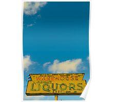 untitled - warehouse liquors Poster