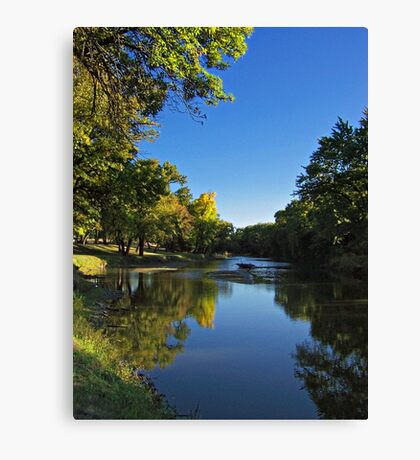 Splash of Fall Canvas Print