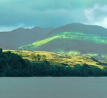 Rainbow Over Loch Awe by maekstar