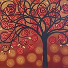 Autumn Apple Tree by Diana Plaisance