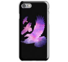 Divergent Raven Tattoo Galaxy iPhone Case/Skin