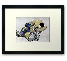 The Ground is my Ocean Framed Print