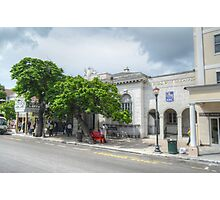 Bay Street in Downtown Nassau, The Bahamas Photographic Print