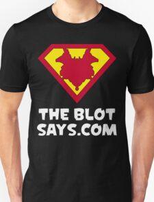 The Blot Shield (White) Unisex T-Shirt