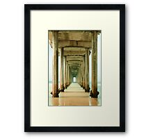 Scripps Long Exposure Framed Print