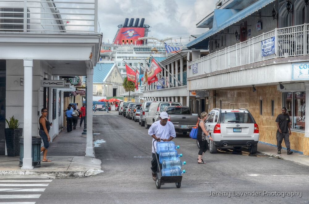 Frederick Street in Downtown Nassau, The Bahamas by Jeremy Lavender Photography