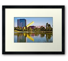 Cheese Stick Framed Print