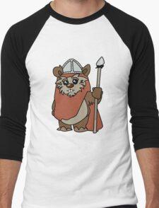 Shakespearean Star Wars: Ewok Knight Men's Baseball ¾ T-Shirt