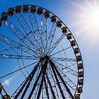 Ferris Wheel - Midday Sun by Joel McDonald
