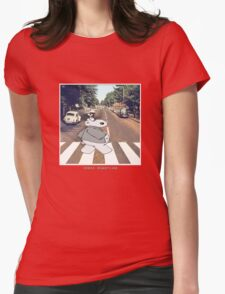 Chicot the Hippo, Classic Album - Shabby Lane Womens Fitted T-Shirt