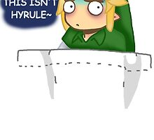 """""""THIS ISN'T HYRULE"""" Link in a Pocket by Mikayla Williams"""