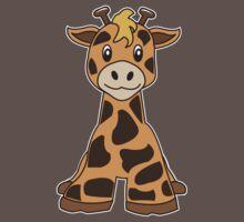 giraffe cute animal Baby Tee