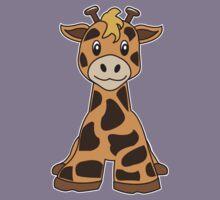 giraffe cute animal Kids Clothes