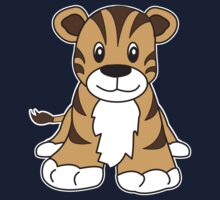 tiger cute animal Kids Tee