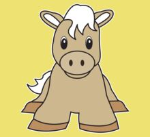 pony cute animal Kids Clothes