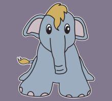 elephant cute animal Kids Clothes