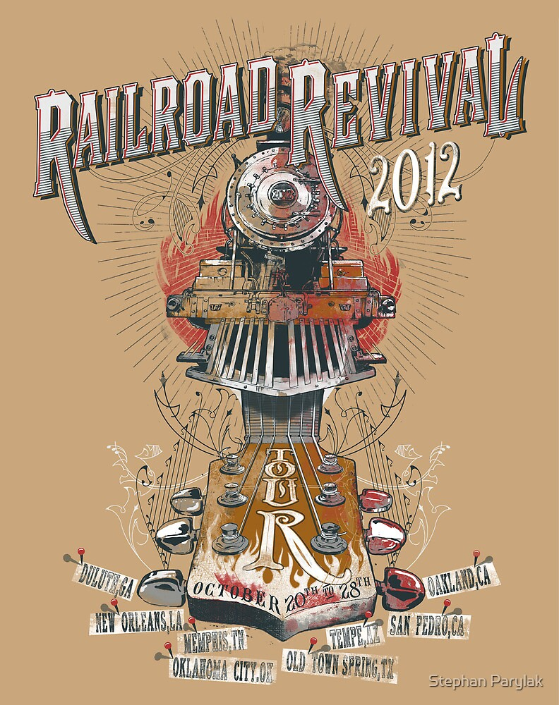 2012 Railroad Revival by Stephan Parylak