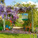 Spring is in the Air - Private Garden, Kanmantoo, Adelaide Hills, SA by Mark Richards