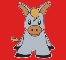 donkey cute animal One Piece - Long Sleeve
