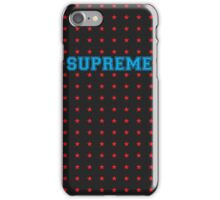 SUPstaREME iPhone Case/Skin