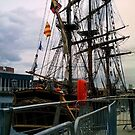 hms bounty by Kevin McLaughlin