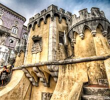 The Pena National Palace, Sintra - Portugal XII by NSantos