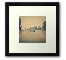 Hit The Road... Framed Print