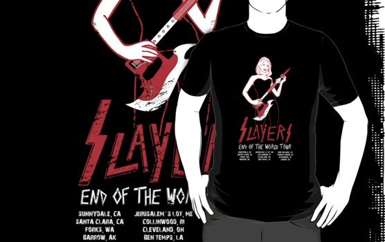 "Slayers ""End of the World Tour"" by kentcribbs"
