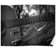 Music Nature: Guitar 4 Poster