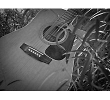 Music Nature: Guitar 6 Photographic Print