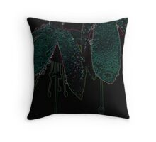 Playing with Fuchsias Throw Pillow
