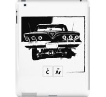 Old Car - Periodic Table iPad Case/Skin