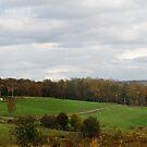 beautiful farm in fall by Penny Rinker