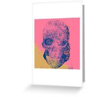 Skull I Greeting Card