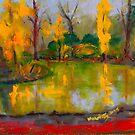 The colours of autumn, Malmsbury VIC Australia by Margaret Morgan (Watkins)