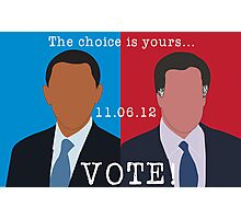 2012 Election Photographic Print