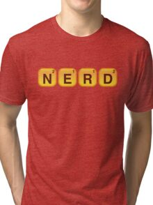 Words With NERD Tri-blend T-Shirt