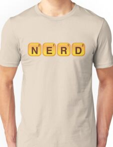 Words With NERD Unisex T-Shirt