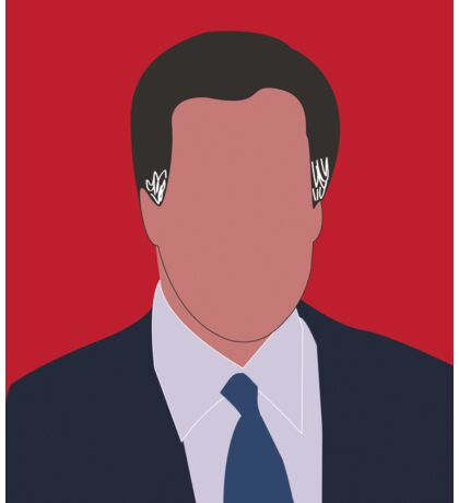 Mitt Romney Digital Illustration Portrait Sticker