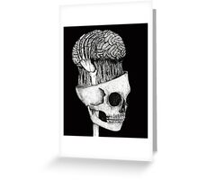 brains  Greeting Card