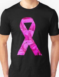 Pink Azalea Flowers Awareness Ribbon T-Shirt