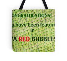 WA Red Bubble Banner Entry # 2 Tote Bag