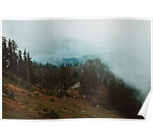 Park Butte Lookout - Washington State Poster
