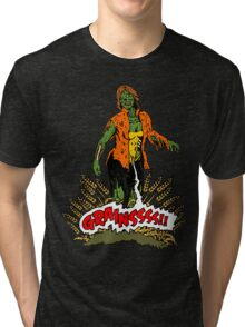 Zombie Vegan Tri-blend T-Shirt