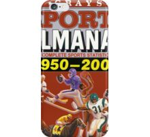 BTTF GREYS SPORTS ALMANAC iPhone Case/Skin