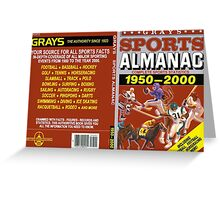 BTTF GREYS SPORTS ALMANAC Greeting Card