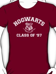 Hogwarts Class of '97 (Dark Shirt Colors) T-Shirt
