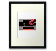 Super Rampage Contra Framed Print