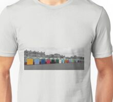 Beach Huts in Hove Unisex T-Shirt