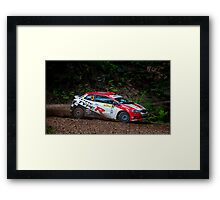 Eli's Honda Framed Print
